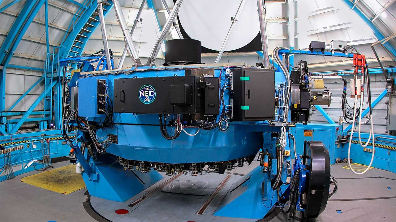 NEID instrument lets scientists determine the density of distant planets