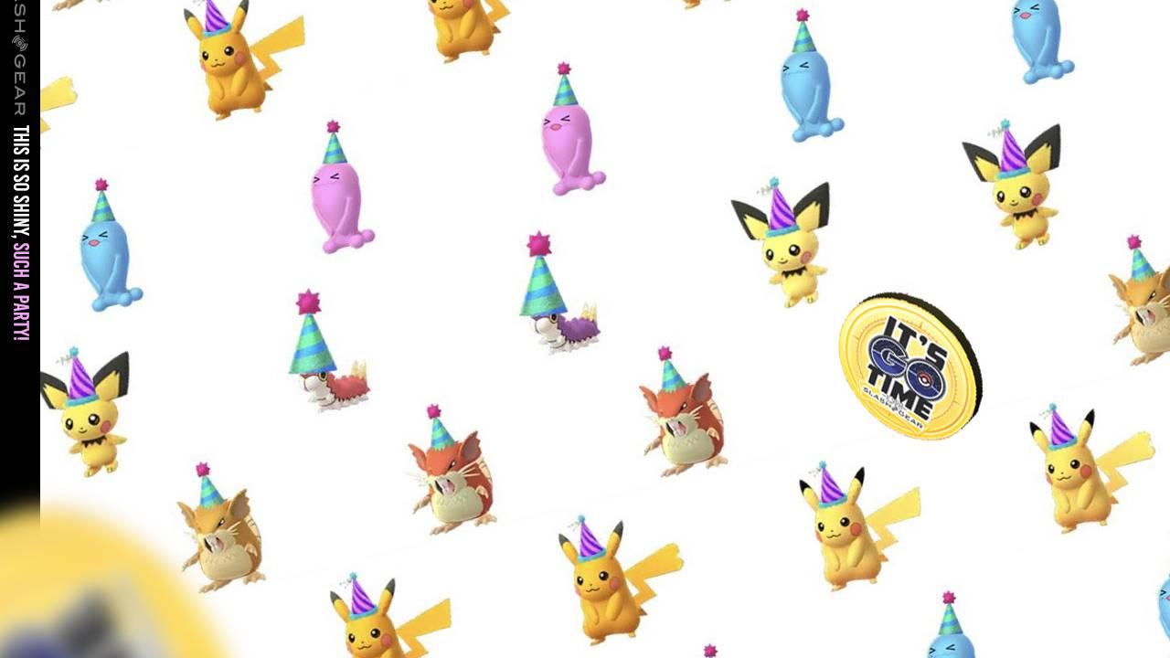 Shiny Pokemon GO Adventure Sync Hatchathon: Stardust, Candy, Bonuses