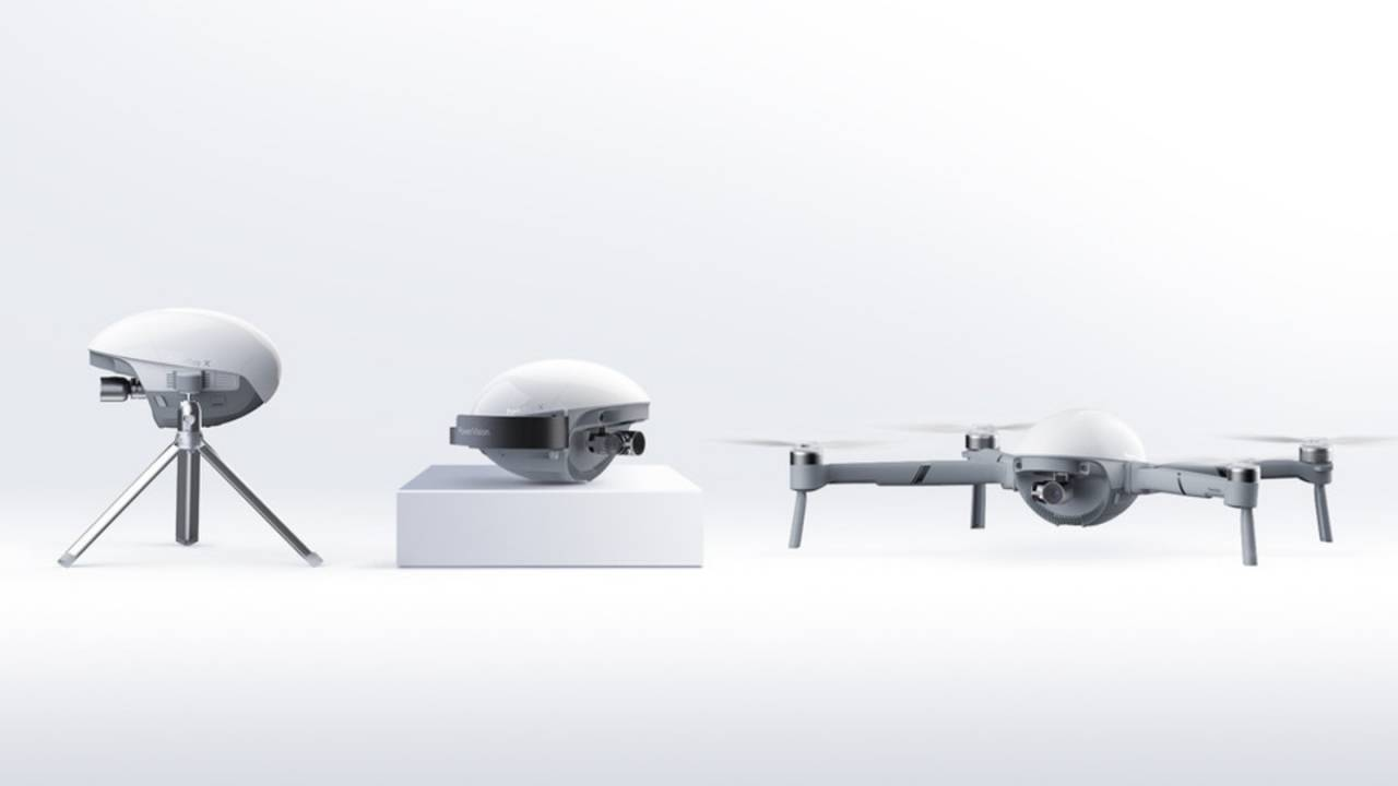 PowerVision PowerEgg X is a personal AI camera that can fly