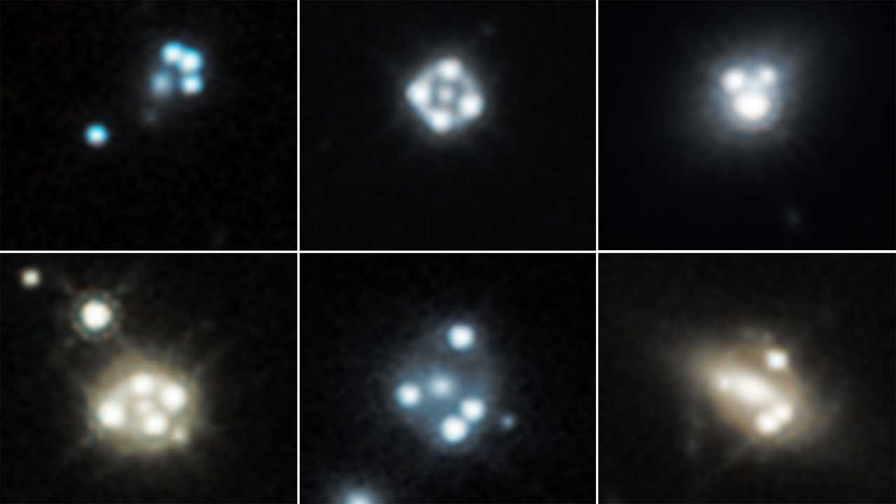 Hubble Space Telescope detects smallest dark matter clumps ever
