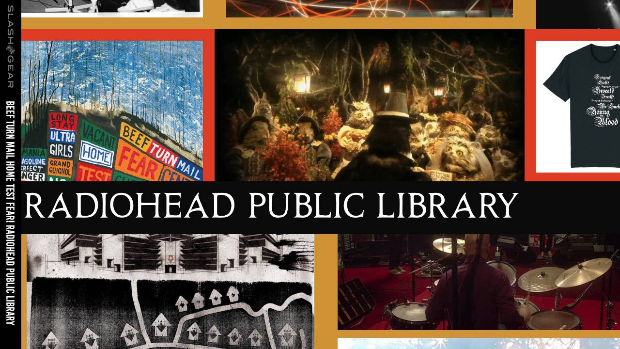 What is the Radiohead Public Library?