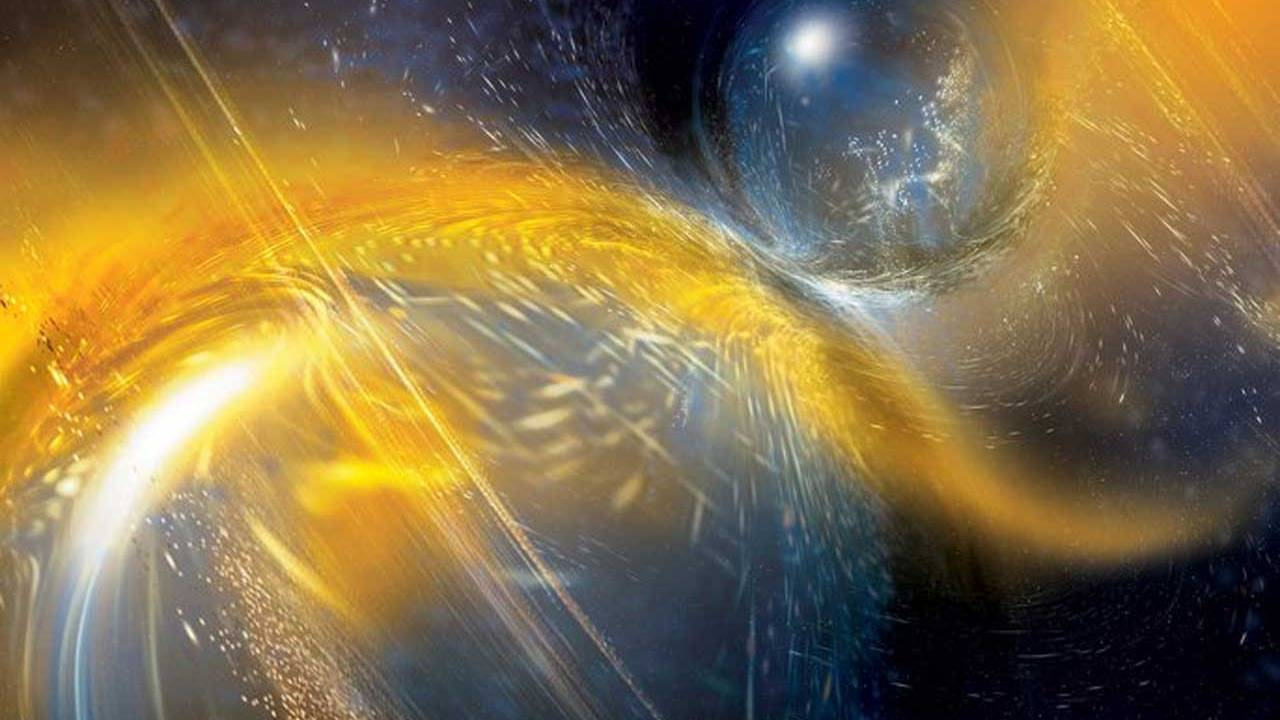 Gravitational ripples from a pair of colliding neutron stars detected