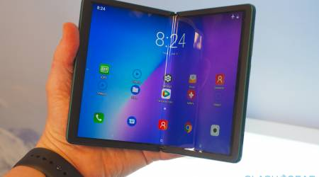 TCL Foldable Phone Prototype 2020 Gallery