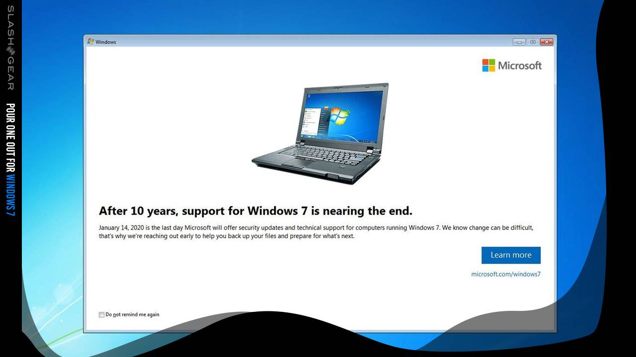 These computers lose Windows 7 support starting today