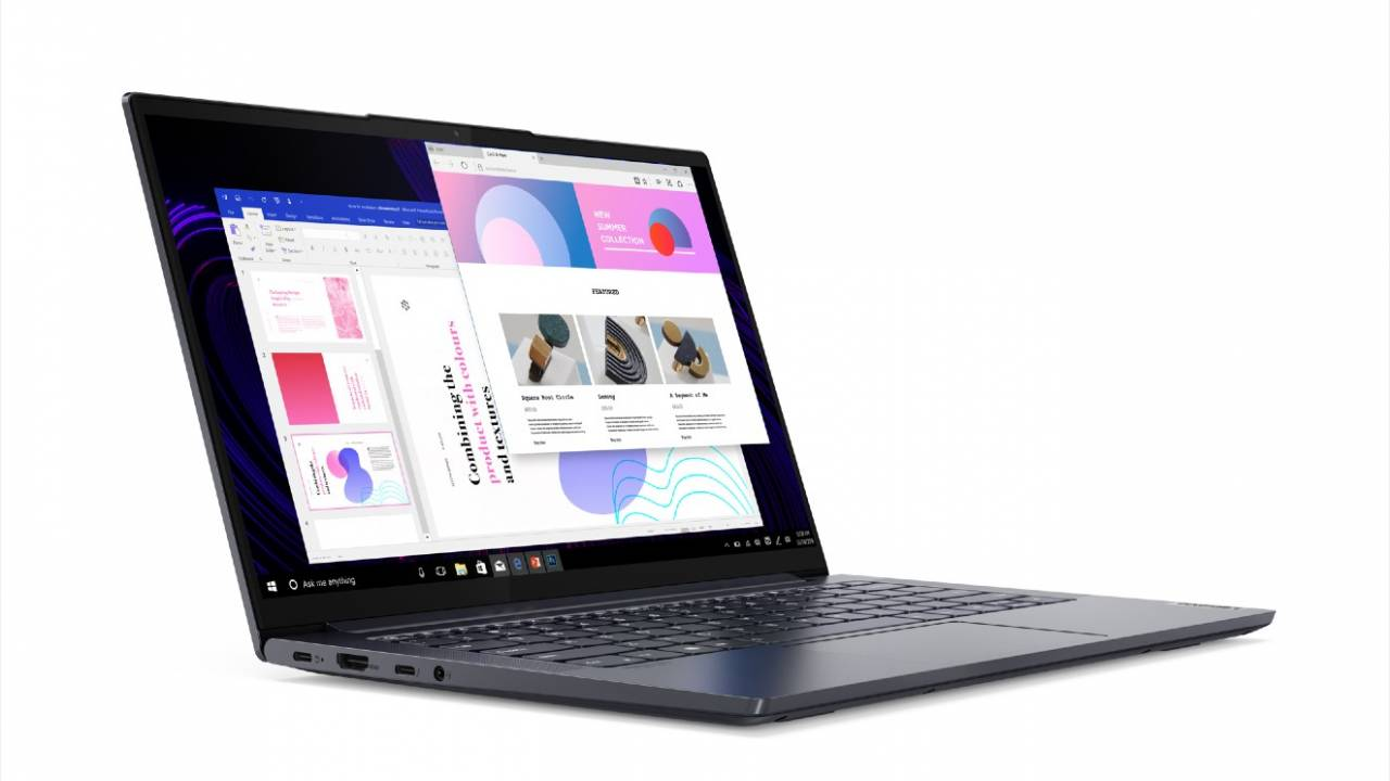 Lenovo targets road warriors with new Yoga Slim 7 and Yoga 5G laptops