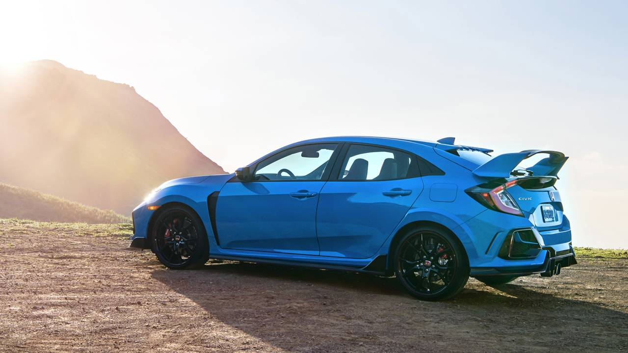 2020 Honda Civic Type R gets a new color and datalogging app