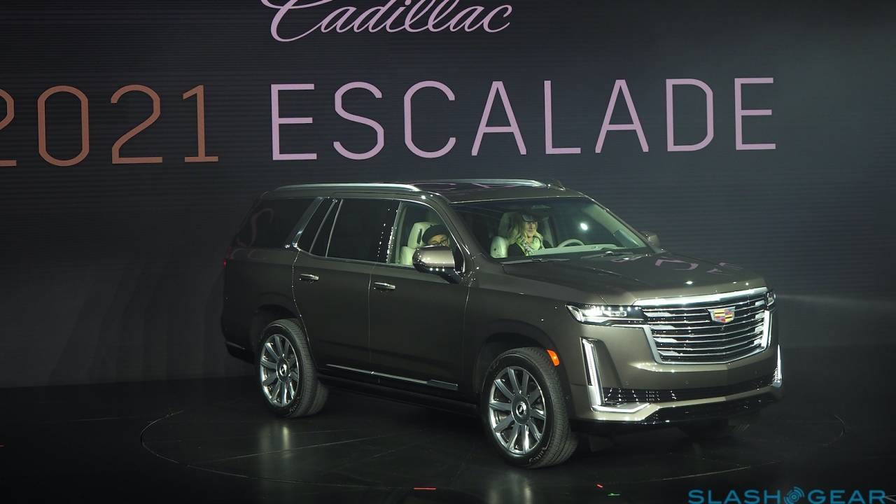 2021 Cadillac Escalade official: Legendary SUV gets more space and tech