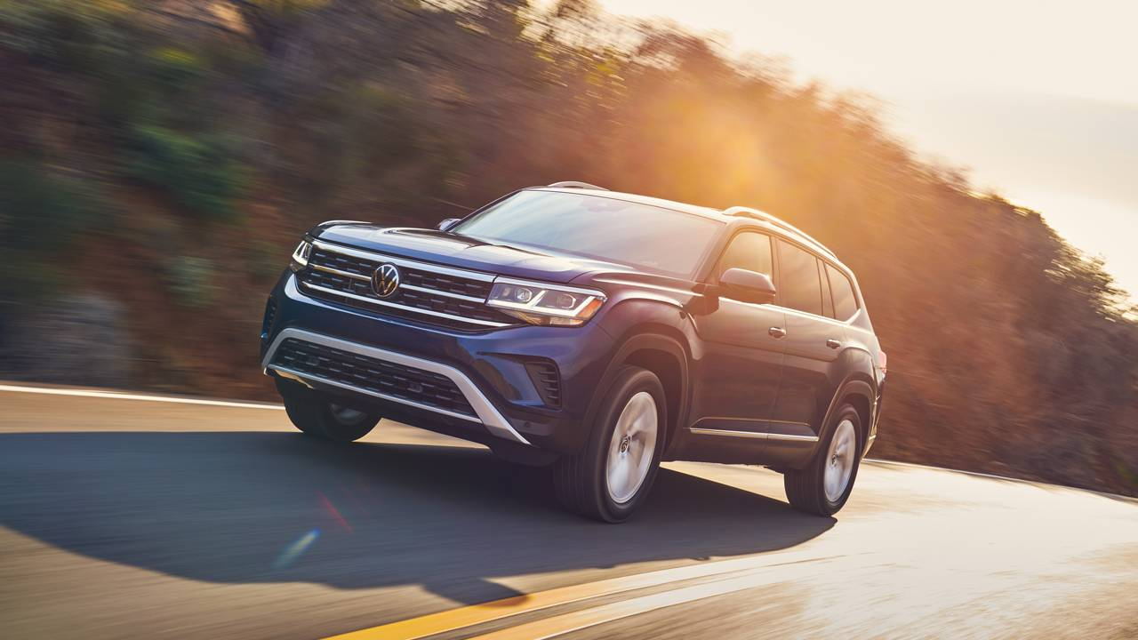 Refreshed 2021 VW Atlas debuts at the Chicago Auto Show
