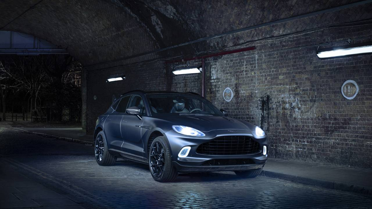 Aston Martin DBX by Q is a bespoke SUV with lots of carbon fiber
