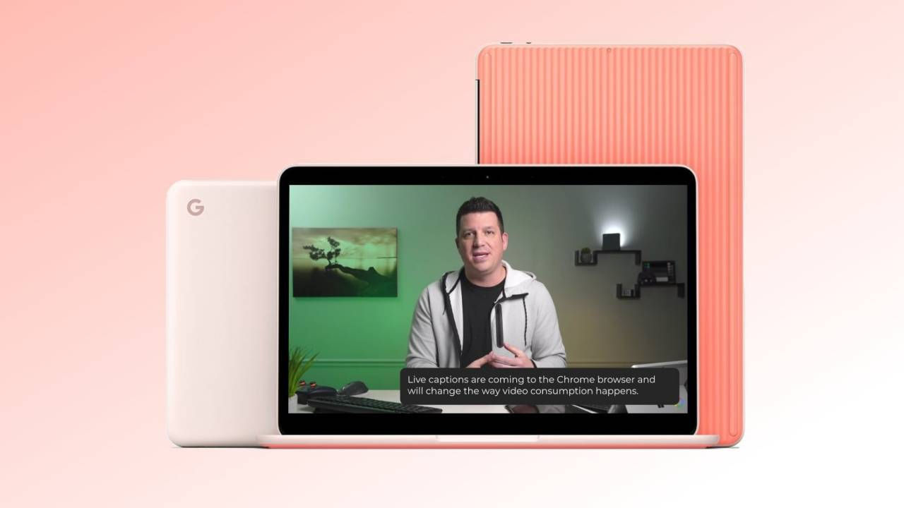 Pixel Live Caption may be coming to the Chrome browser