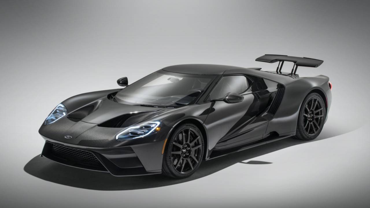 Ford GT Liquid Carbon gives boosted supercar the design it deserves