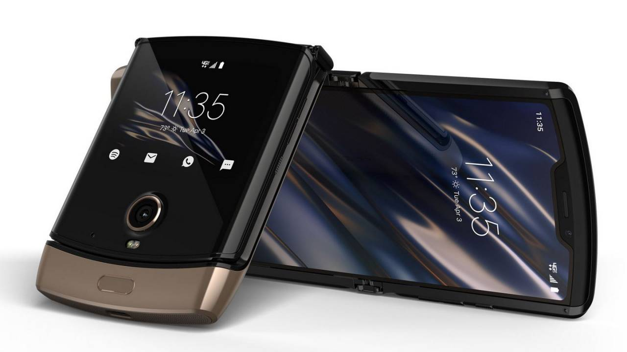 Motorola Razr getting a gold model this spring