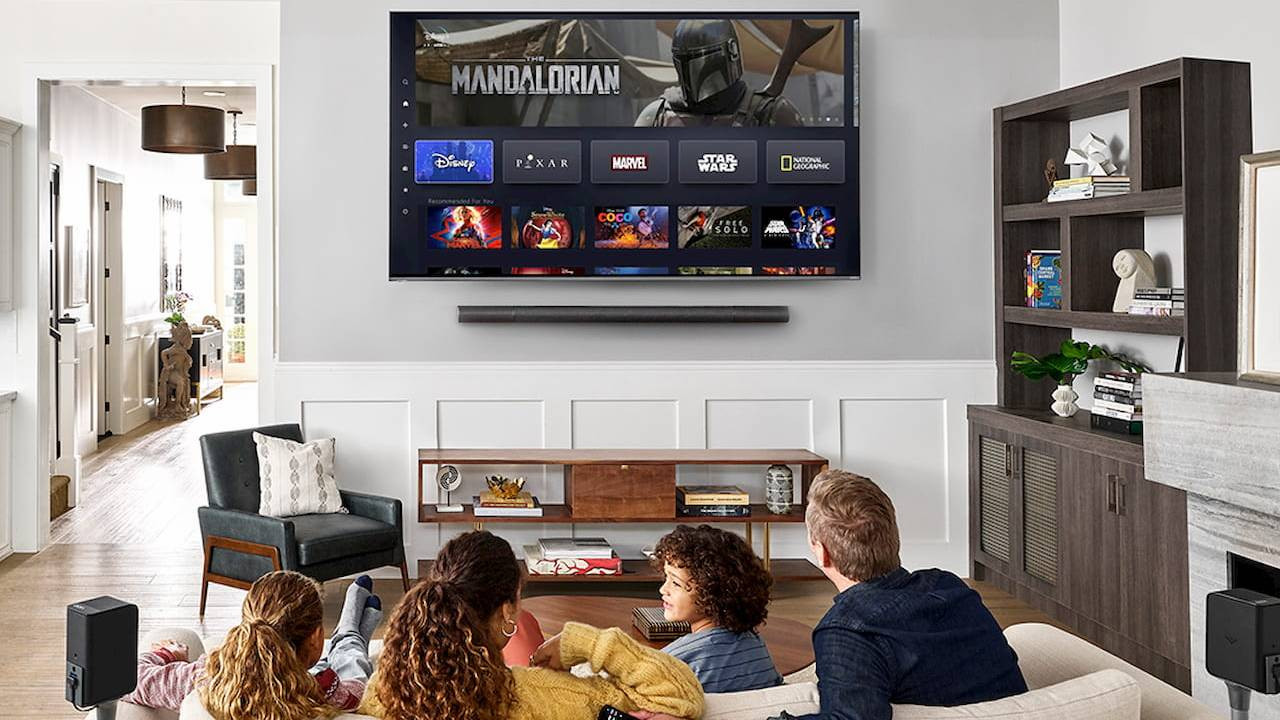 Disney+ heads to Vizio SmartCast today