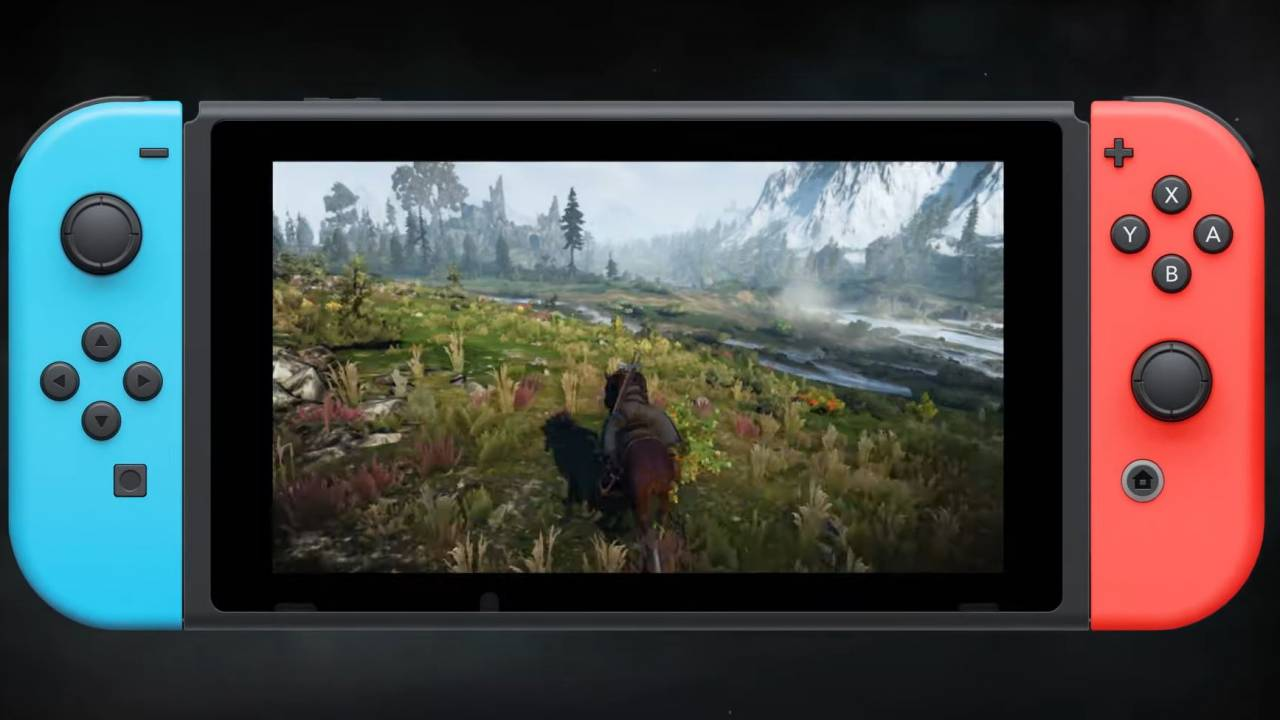 The Witcher 3 for Switch now features cross-saves with PC