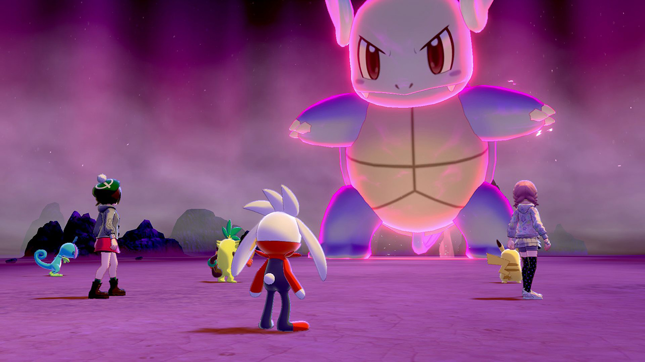 Pokemon Sword and Shield update gets a rogue monkey and more DYNAMAX Pokemon