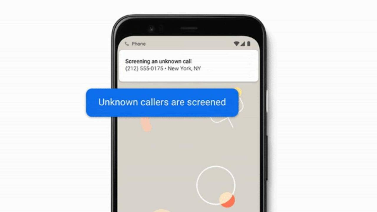 Automatic Call Screening is now available on all Pixel phones
