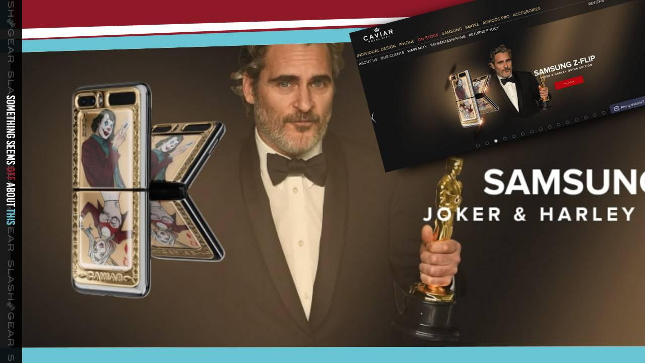 Joaquin Phoenix used to promote Joker edition Galaxy Z Flip in Russia