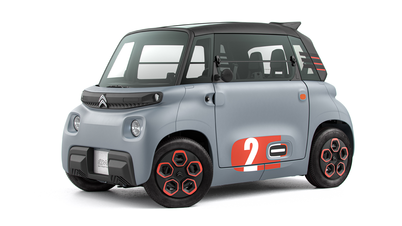 Would you drive this oddball Citroen Ami 2-seat EV for $22 a month?