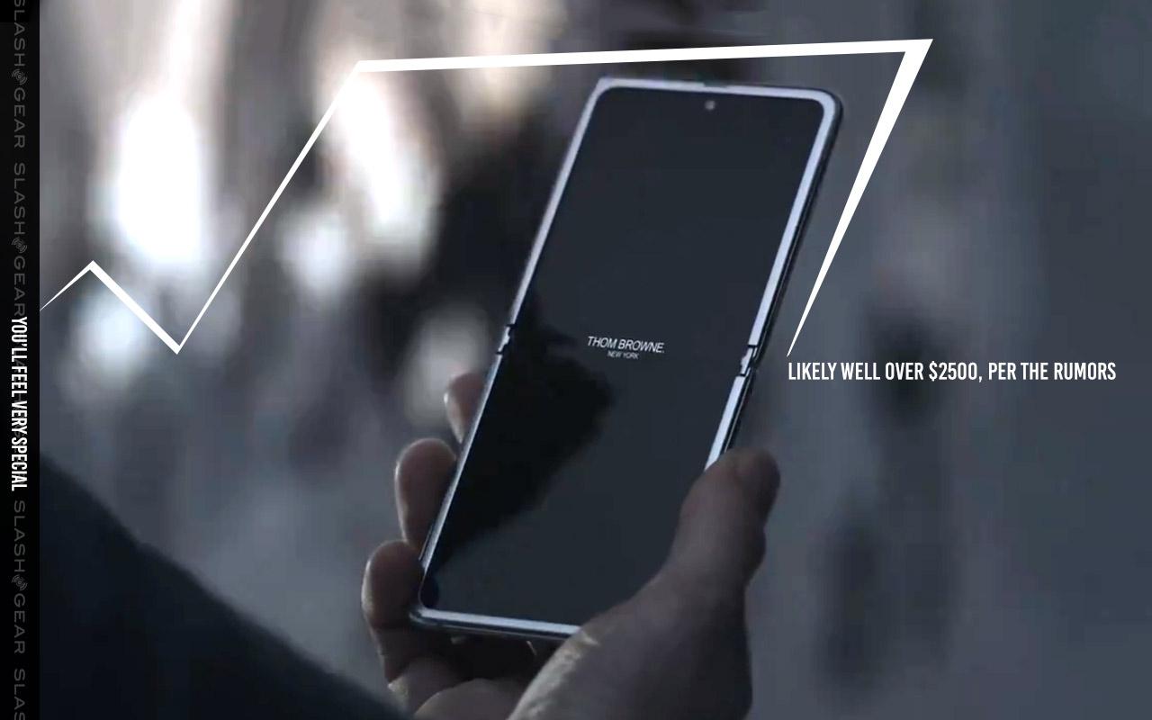 Samsung Galaxy Z Flip Thom Browne Edition Leaked Slashgear