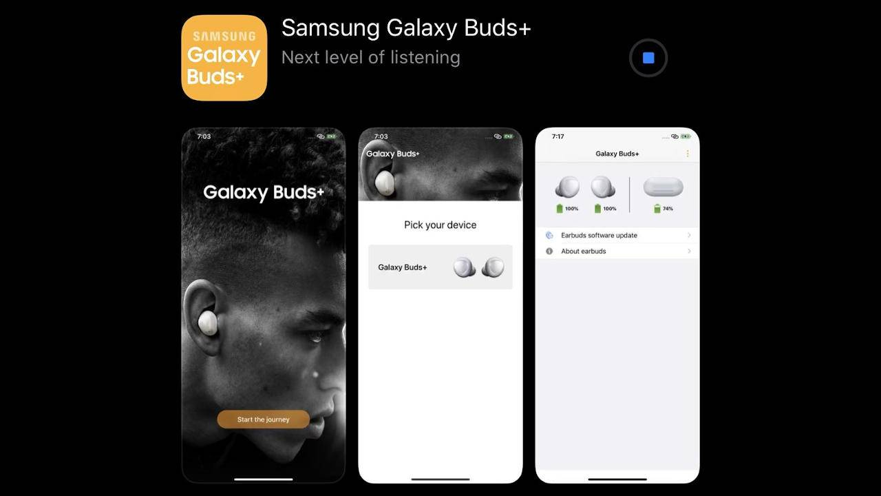Galaxy Buds+ could have support for iPhones