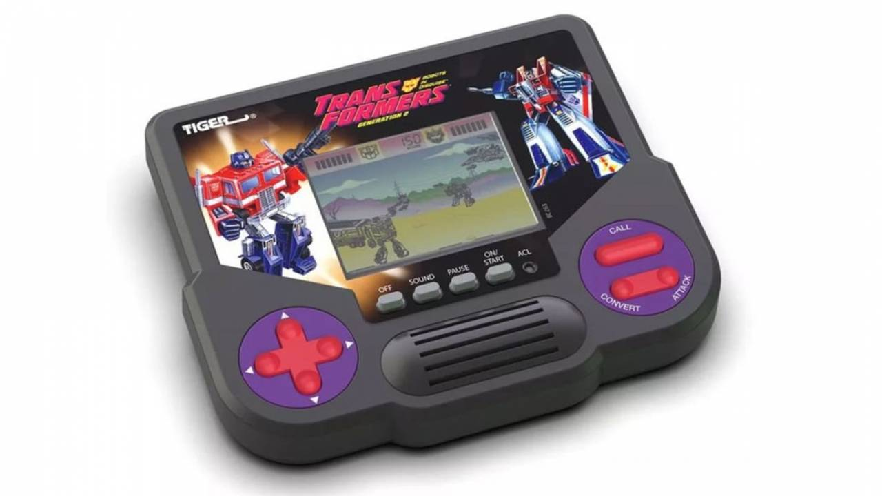 Hasbro revives Tiger LCD handheld games, preorders are live