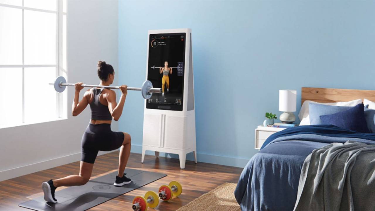 Tempo smart home gym combines weightlifting and machine vision