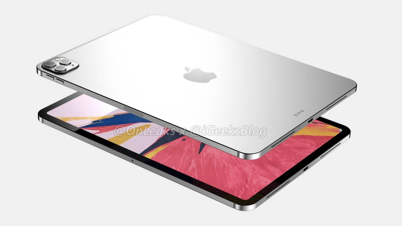 12-inch iPad Pro with 3D ToF sensor still coming next month