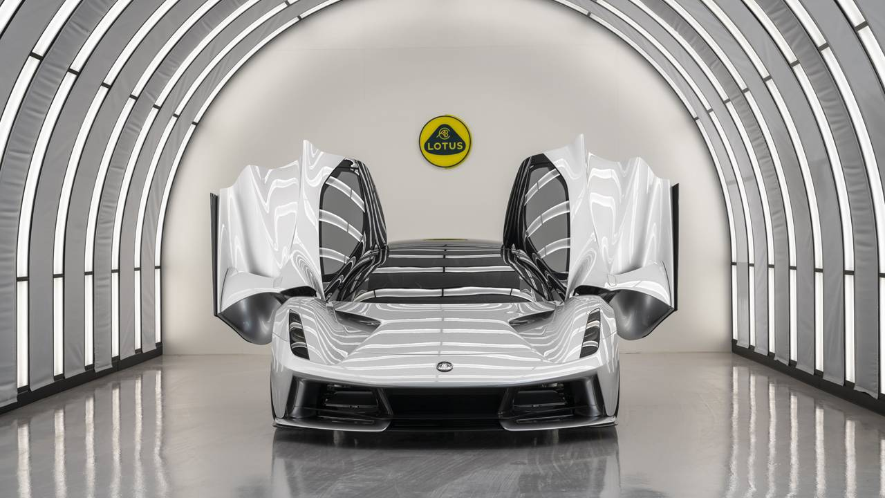 Lotus EVIJA production commences in Hethel this summer