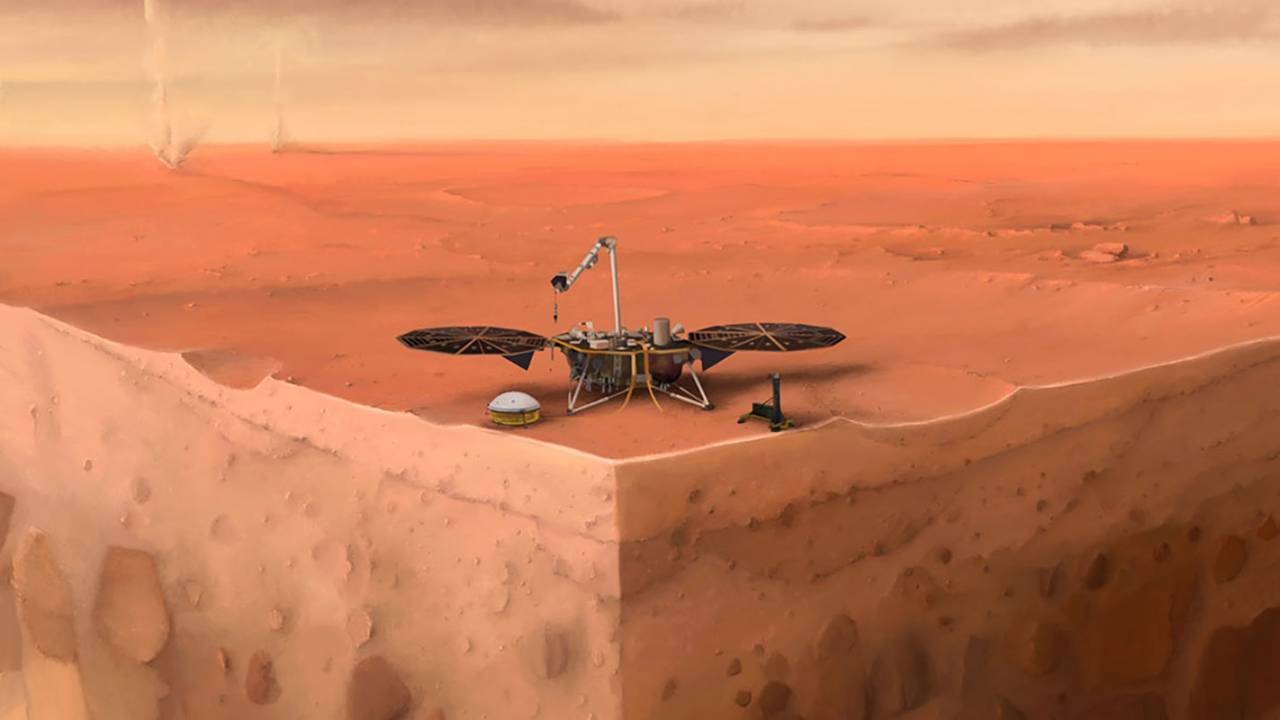 InSight Mars lander detects strange magnetic pulses from ancient rocks