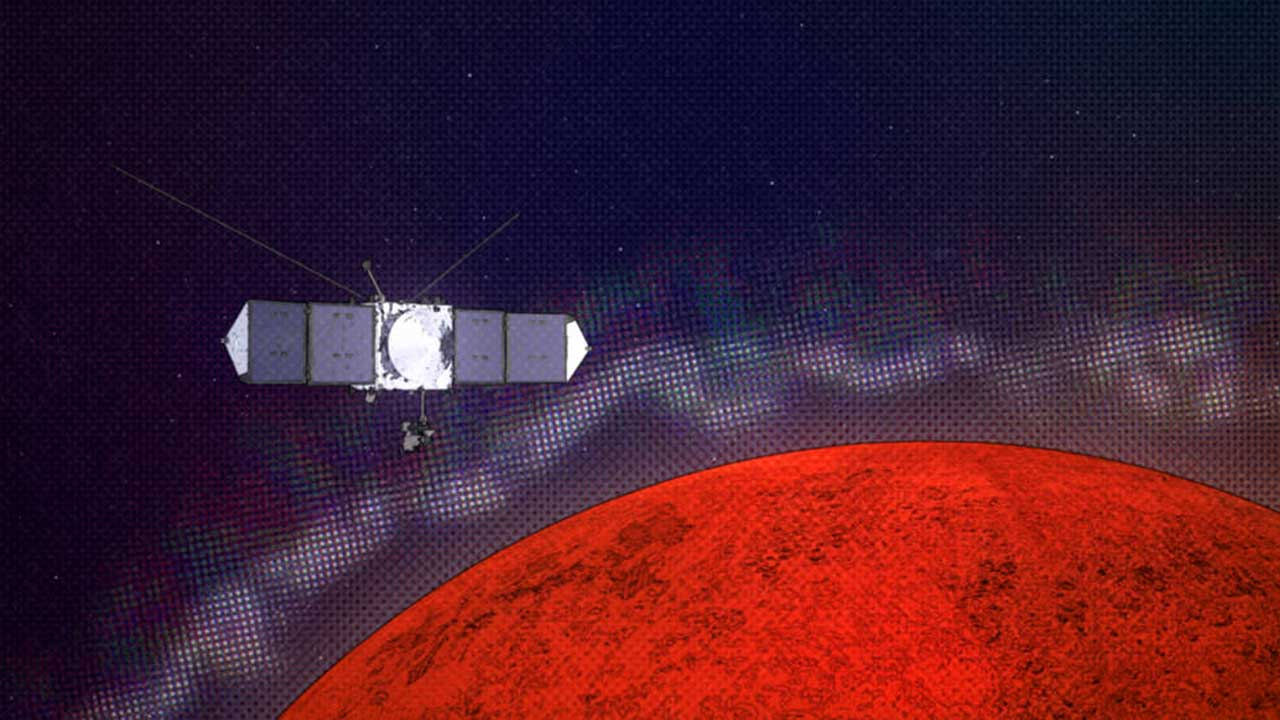 NASA MAVEN spacecraft discovers layers and rifts in Mars' ionosphere