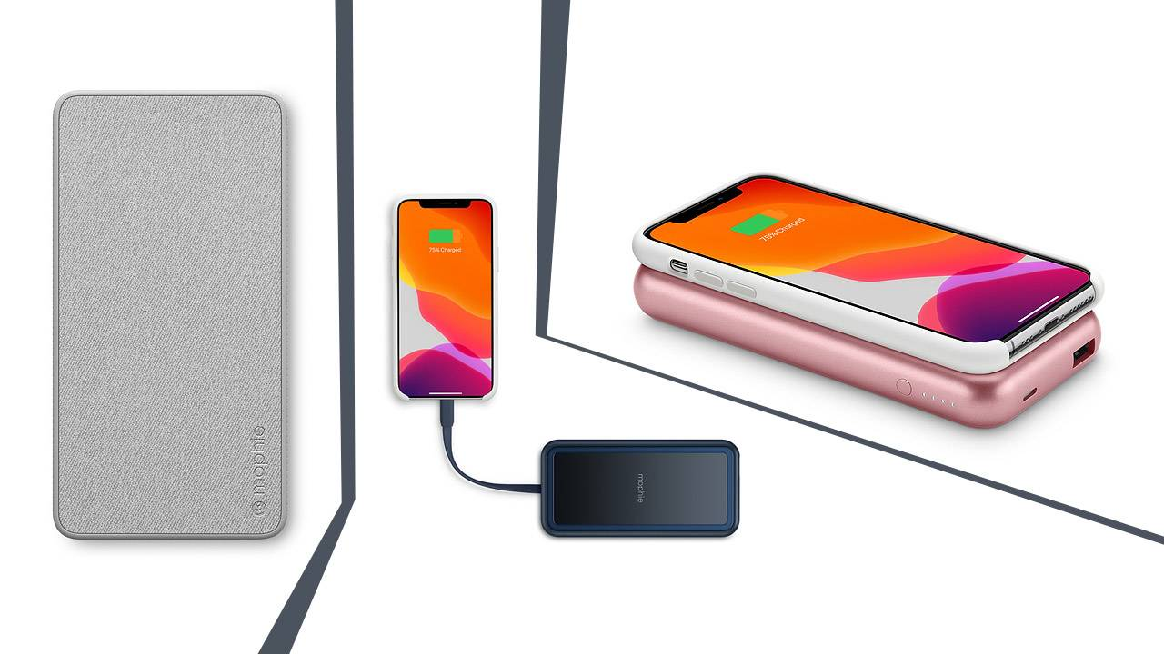 Fashionable new mophie iPhone chargers arrive at Apple Store