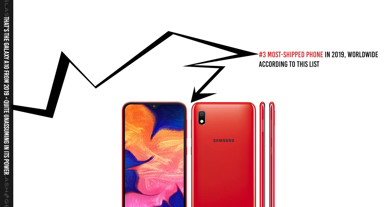 An alternate 2019 top 10 phones list: Cheaper still wins