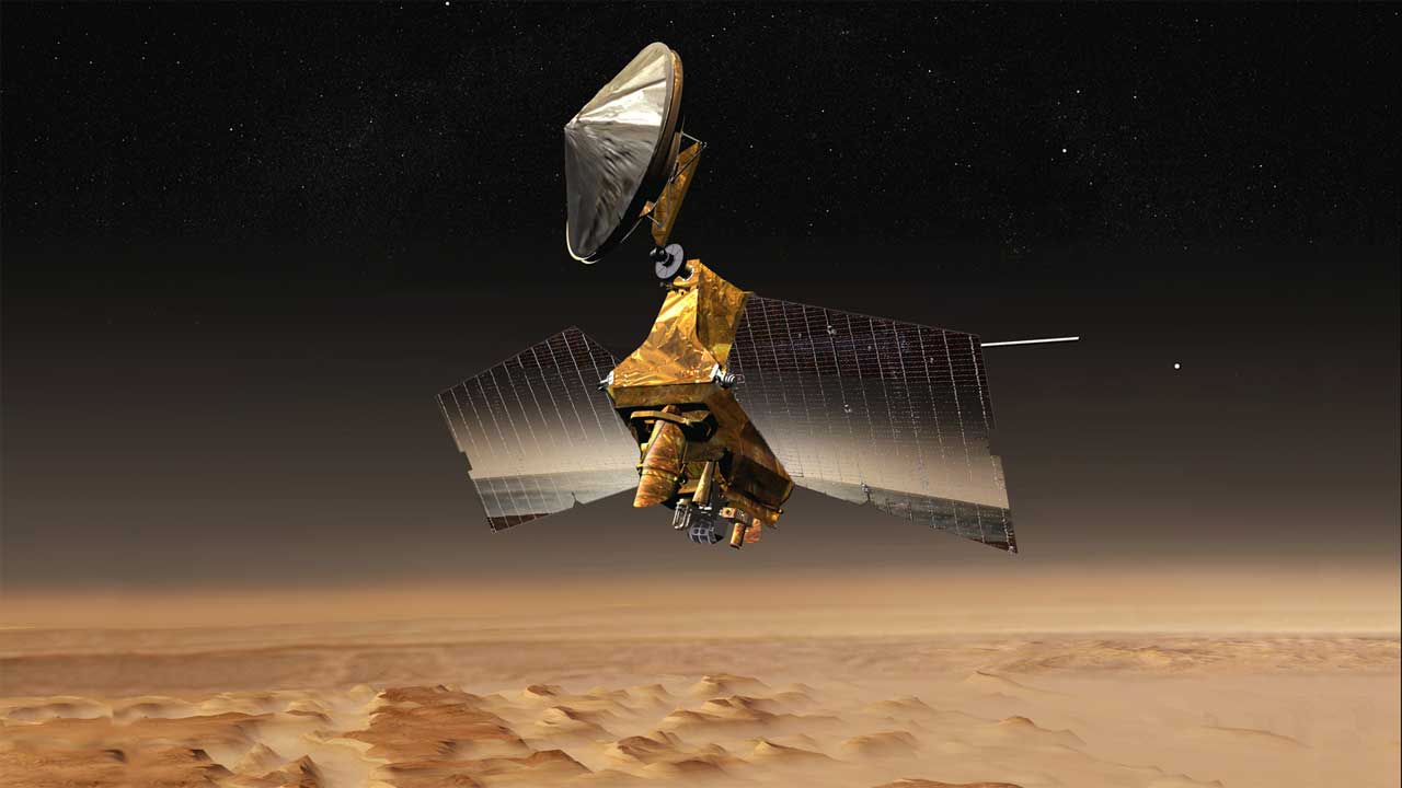 NASA Mars Reconnaissance Orbiter update will improve its battery usage