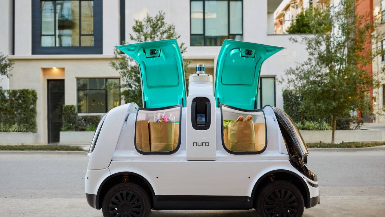 Nuro R2 self-driving delivery pod hits US autonomous vehicle milestone