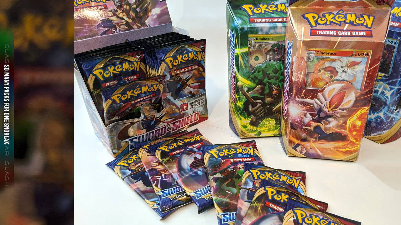 Pokemon TCG Sword and Shield released in stores today