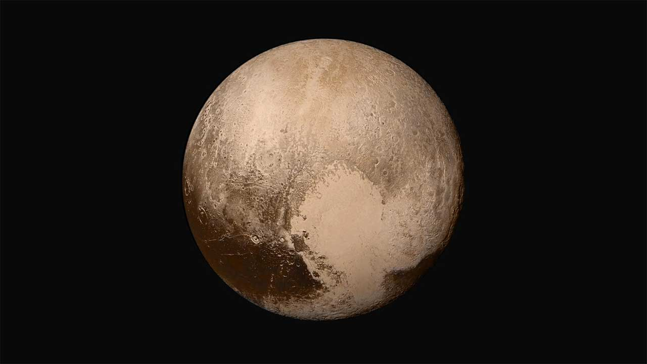 Pluto's winds may create surface features says a new study