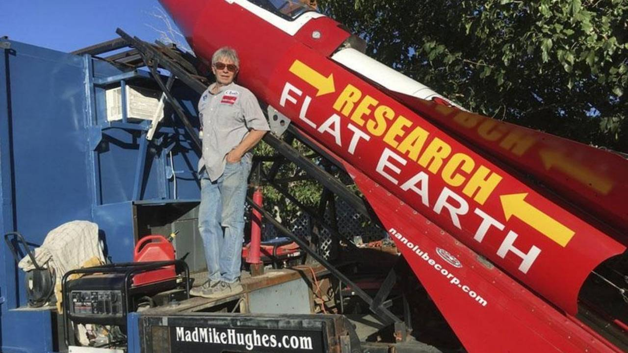 Flat Earther Mad Mike Hughes dies in homemade rocket crash