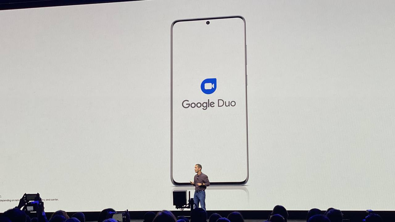 Samsung integrates Google Duo in the Galaxy S20's dialer app