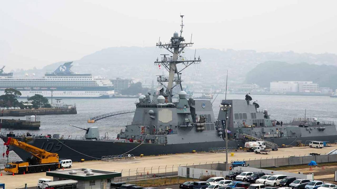 US Navy deploys anti-drone laser on its USS Dewey destroyer
