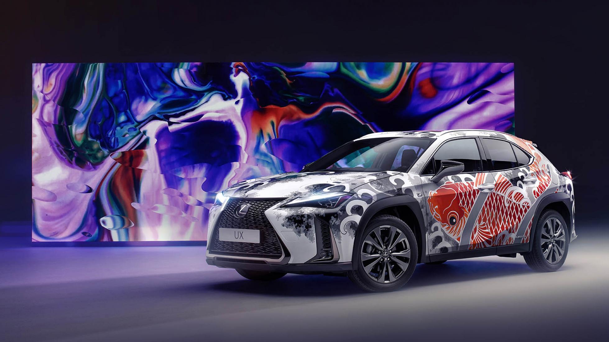 This Lexus UX is brandishing a new tattoo - SlashGear
