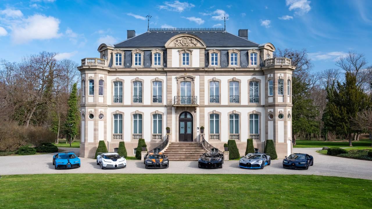Here's a closer look at Bugatti's entire supercar lineup