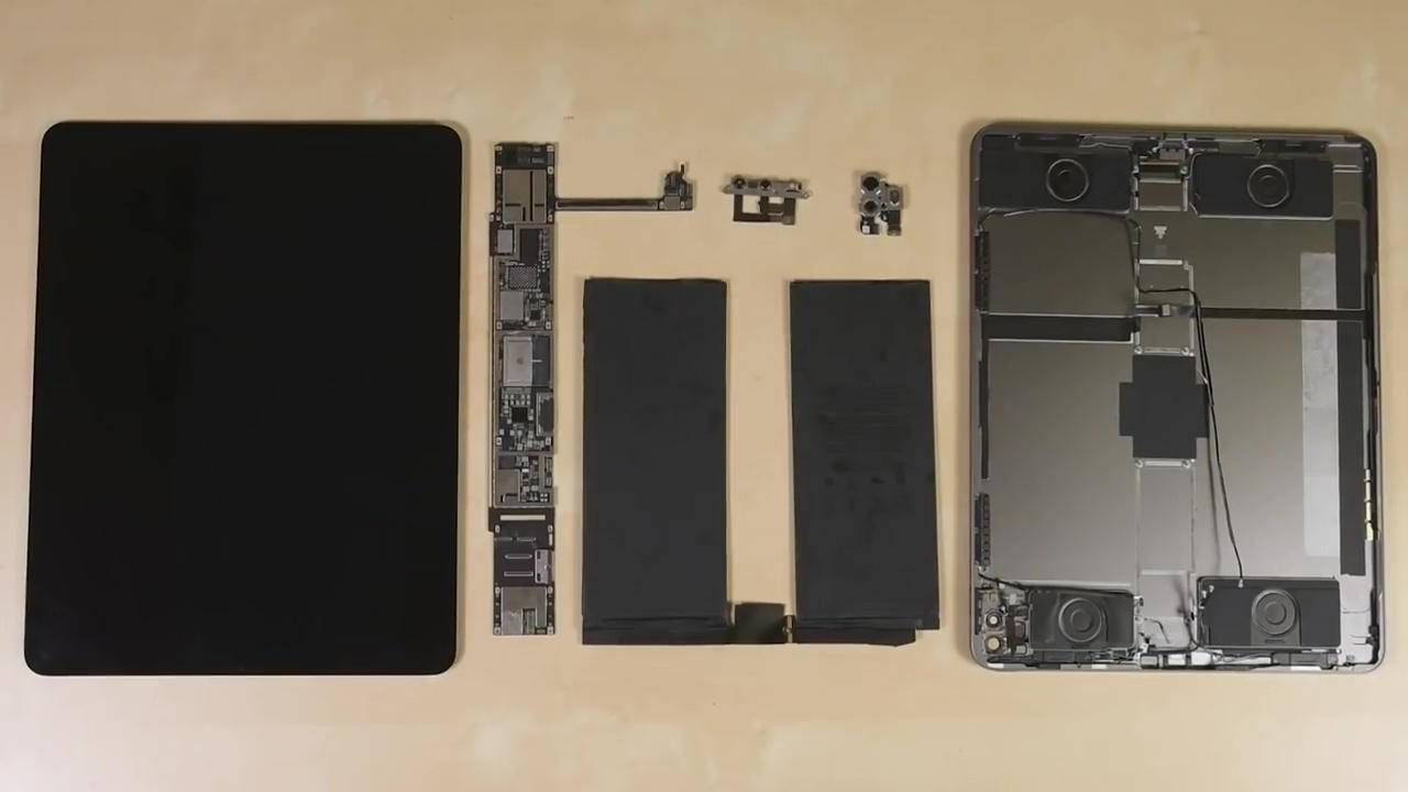 2020 iPad Pro teardown and durability test look very familiar