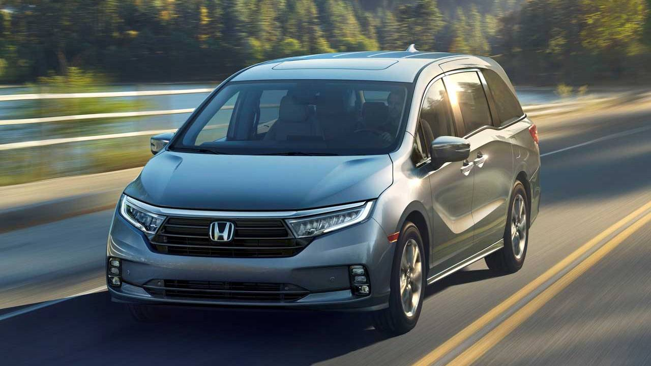 2021 Honda Odyssey was to be unveiled at the New York Auto Show