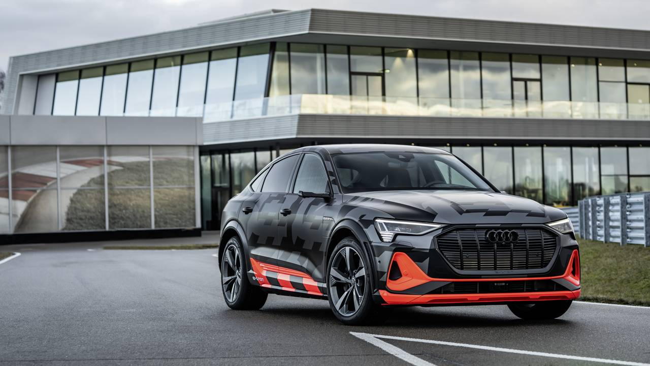 Audi e-tron Sportback S models offer more pure electric performance