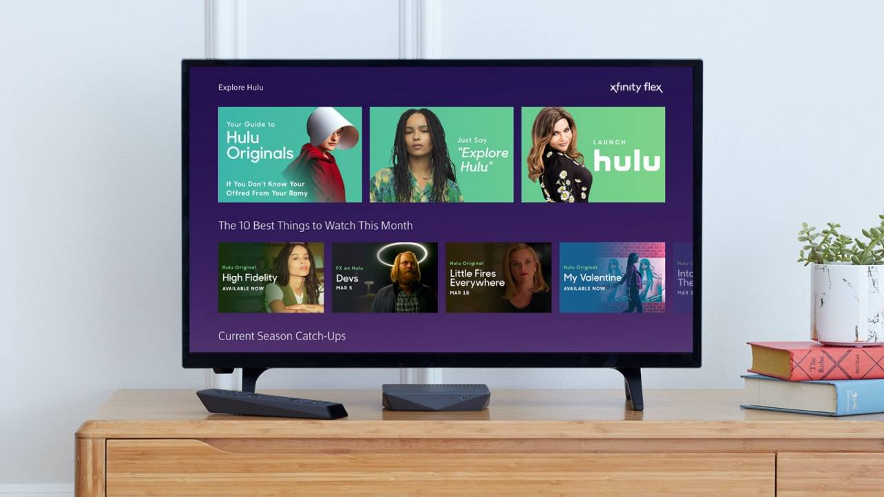 "Hulu lands on Xfinity Flex and ""soon"" to Xfinity X1 boxes"