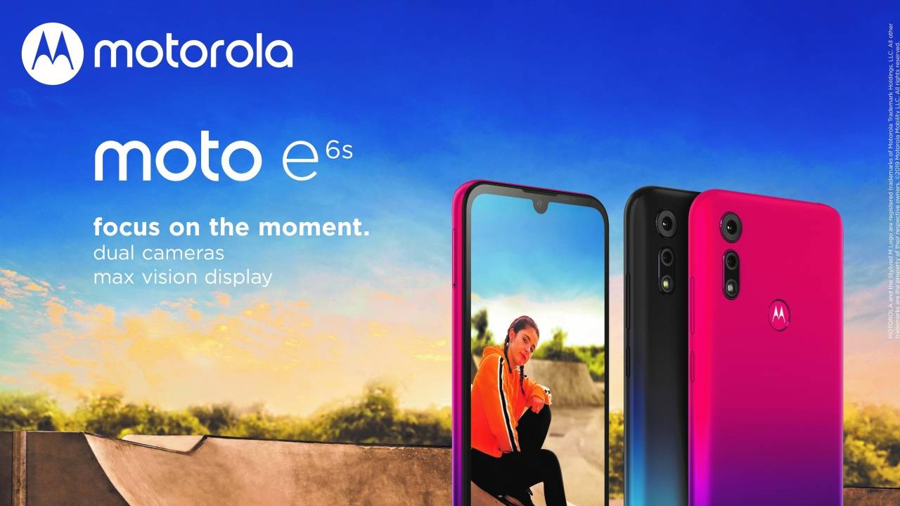 Moto E6s brings dual cameras to an entry-level Android phone