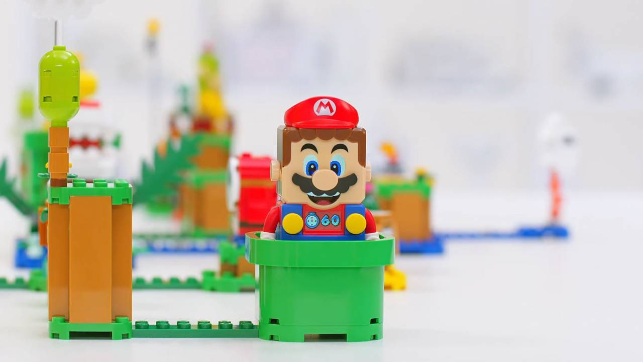 LEGO Super Mario sets let you make and play your own Mario levels