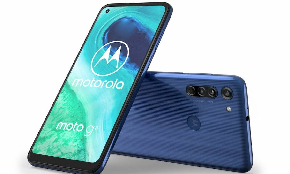 Moto G8 officially unveiled with triple rear cameras