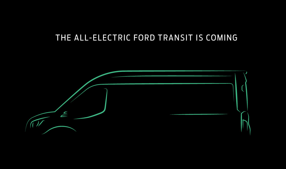Ford Transit EV will bring an all-electric van to US and Canada