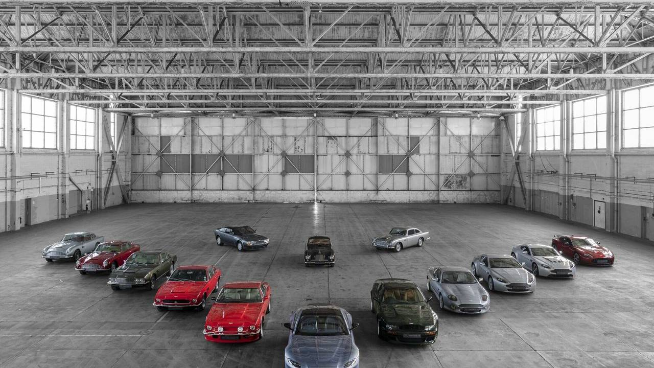 Aston Martin celebrates 70 years of Vantage